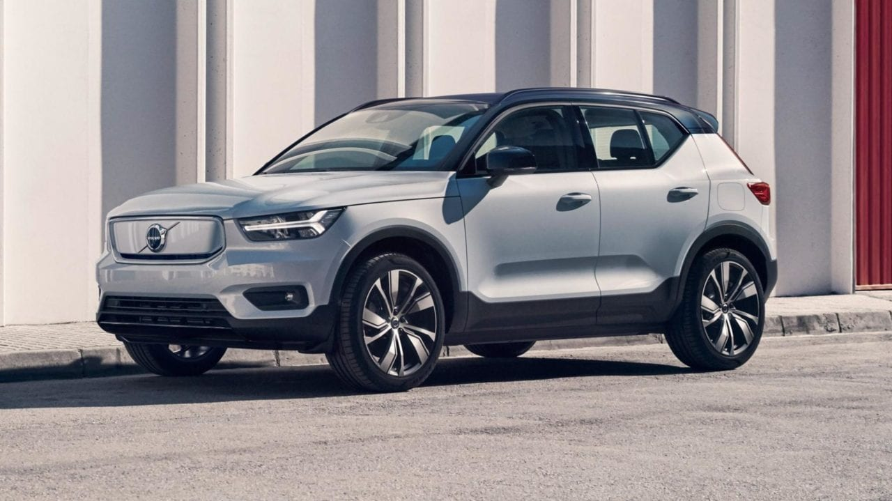 Volvo XC40 recharge laden