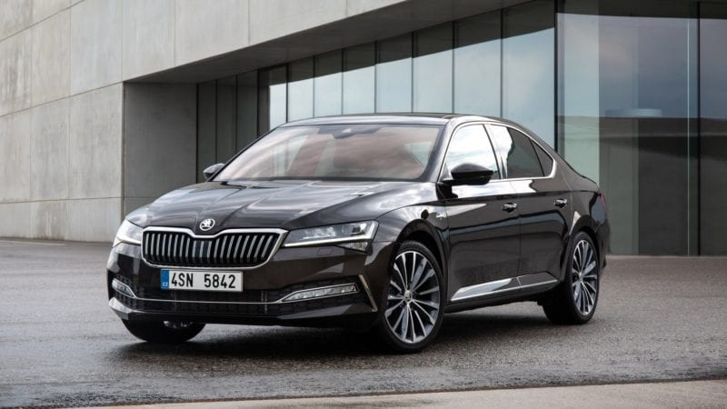 Skoda Superb iV auto